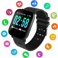 Smart часы A6 Smart Bracelet Sistained Heart Rate